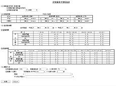 保育園基本情報登録、修正