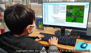 生徒は自分の好きなゲームを作ることで、楽しみながらプログラミングの本質を学ぶことができます。